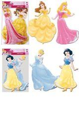 2 Disney Princess Cutouts - Official Disney - Cardboard Decoration Gift Table