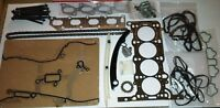 VAUXHALL CORSA D 1.2 1.4 2010-on TIMING CHAIN KIT + HEAD GASKET SET + BOLTS