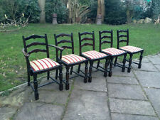 Solid Wood Dining Room Vintage/Retro Chairs with 4 Pieces