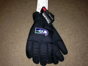 Vintage Seattle Seahawks 3M Thinsulate YOUTH nylon Gloves NWT