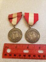 Vtg Alabama Bandmasters  State Competition Festival Superior Rating Medals