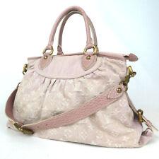 Authentic LOUIS VUITTON M95836 Nogram Denim Neo Cavi MM TH0090 Handbag canva...