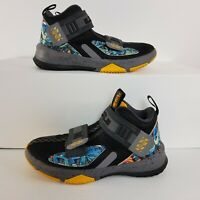 Nike Boy's LeBron Soldier XIII 13 (PS) Shoes Black AR7586-070 Size 1.5Y