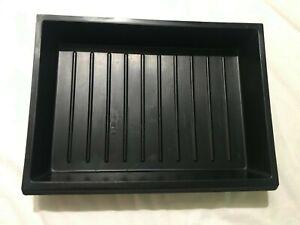 Tiroir casier de rangement CHARLOTTE PERRIAND 1958 Plastique moulé noir SIGNE 2