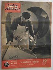 Notre Métier La Vie du Rail n°319- 1951 : Chemin de Fer à crémaillère Langres