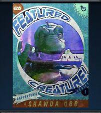 Topps Star Wars Card Trader: Fetured Creature (blue)- RAPPERTUNIE (digital Card)