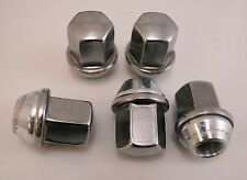 5 New Dodge Ram Factory OEM Polished Stainless 9/16-18 Lug Nuts Lugs 2002-10