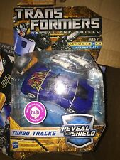 Transformers RTS Turbo Tracks Deluxe Class