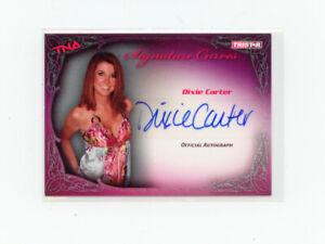 TNA Impact 2009 Signature Curves #KA4 Dixie Carter Autograph 4/5 SP
