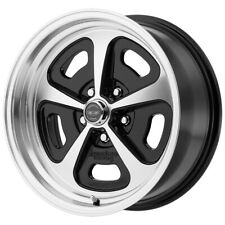 "American Racing VN501 Mono Cast 15x7 5x4.5"" +0 Black/Machined Wheel Rim 15"" Inch"