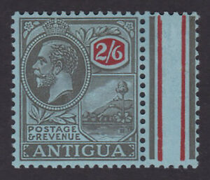 Antigua. 1927. SG 78, 2/6 black & red/blue. Fine mounted mint.