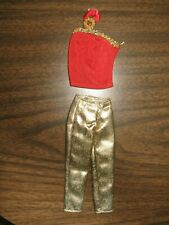 High School Musical Doll Gold Pants W Red Top