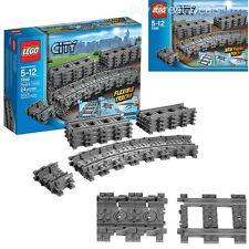Lego City 7499 Flexible Tracks Set Design Toy Make Your Train Go Even Farther