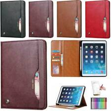 """Case iPad 7.9"""" 9.7"""" 10.5"""" Soft PU Leather Smart Cover Sleep Wake Stand for Apple"""