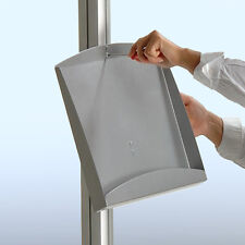 Steel Brochure Shelf for Freestanding Unit 8.75W x 13H Inches