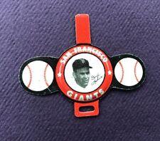 1958 Vintage Armour Tab San Francisco Giants Baseball Daryl Spencer Pin