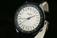 Rocket 2623 OLD stock Vintage Russian USSR scientific watch Ex Rare 24 hours