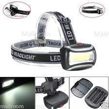 COB LED Stirnlampe Kopflampe Headlamp Headlight Licht Arbeitslampe lampe 600LM