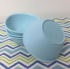Tupperware Legacy Pinch Cereal Bowl Set Of Four Mint 13 oz New