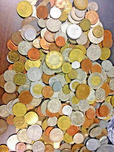 25 Old & New Foreign World Coins Lot / Bag No Dublicates in each Lot