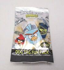 ROVIO Angry Birds Space 2009 Dog Tag Fun Pack NEW