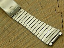 Seiko Vintage Watch Band 17.5mm Deployment Clasp Stainless NOS Unused Bracelet