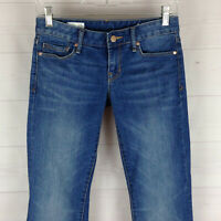 Gap 1969 Perfect Bootcut womens size 24P stretch blue light wash jeans in EUC