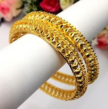 Indian 22ct Gold Plated Size:2.4 Rocket Gajra/Bangles Bridal Jewellery Bollywood