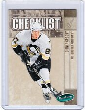05-06 2005-06 PARKHURST SIDNEY CROSBY CHECKLIST 694 PITTSBURGH PENGUINS