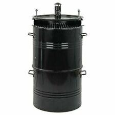 Barbecue affumicatore a carbone Barrel con griglia 47 cm
