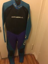 O'NEILL Blue, Black & Purple Full Body Wet Suit Surf Diving Snorkeling Size XXL