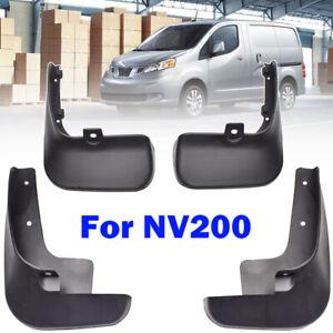 Set For Nissan NV200 Vanette Evalia 2010-2019 Mud Flaps Mudguards Splash Guards
