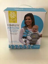 Lille Baby 6-position Complete Airflow Breathable 3D Mesh Carrier New Black