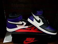 Air Jordan 1 retro High OG Court purple/black-sail (555088-501) SZ 12 men's
