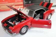 Exact Detail 1:18 Scale 1967 CHEVROLET CAMARO (RED) - PART No. 201