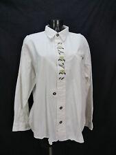 Gr.XL Trachtenhemd Natural Life Baumwolle weiß Edelweiß Trachten Hemd TH1695
