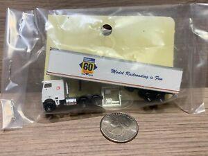 N Scale Model Railroader 60 Years 1934-1994 Trailer Truck K