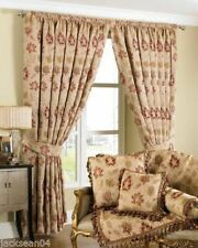 Polyester Antique Style Curtains with Pencil Pleat