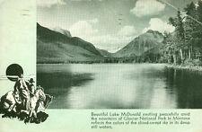 Glacier National Park,Mt. Beautiful Lake McDonald 1937