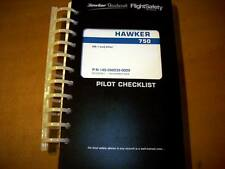 Beechcraft Hawker 750 Pilot Checklist