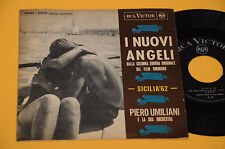 """7"""" 45 ( NO LP ) NEU ENGEL PIERO UMILIANI VON FILM SIZILIEN 62 1° ST ORIG EX"""