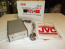 JVC CD-4 Disc Demodulator Model 4DD-5 4 channel record Vintage Made in Japan NEW