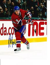 MONTREAL CANADIENS MIKE KOMISAREK SIGNED 8X10