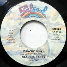 CLAUDJA BARRY Dancin Fever / Long Lost Friend 45 Disco NEAR-MINT Salsoul #902