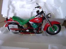 Franklin Mint Harley-Davidson Christmas 2000 Model Motorcycle 1:10 Brand New