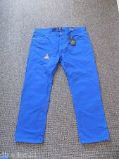 Men's Industrialize trousers size W40 L30 royal blue straight leg brand new