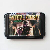 Mortal Kombat 6 16 Bit SEGA MD Game Card For Sega Mega Drive For Genesis Quality