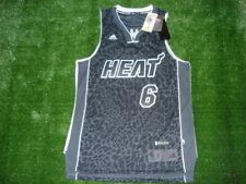 NEW Adidas Miami Heat Lebron James Tech Shift LIMITED EDITION CHAMPS Jersey  RARE 916c99812