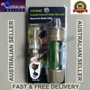 ON SALE MINI WELL WATER FILTER PURIFICATION SURVIVAL STRAW LIFE CAMPING HIKING