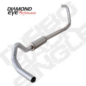 """Diamond Eye Exhaust System Kit, 2004-2007 Ford 6.0L Pwstroke E-Series Van 4"""""""